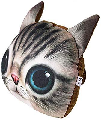 خرید پستی  بالشتک پشت گردنی ماشین طرح گربه سه بعدی