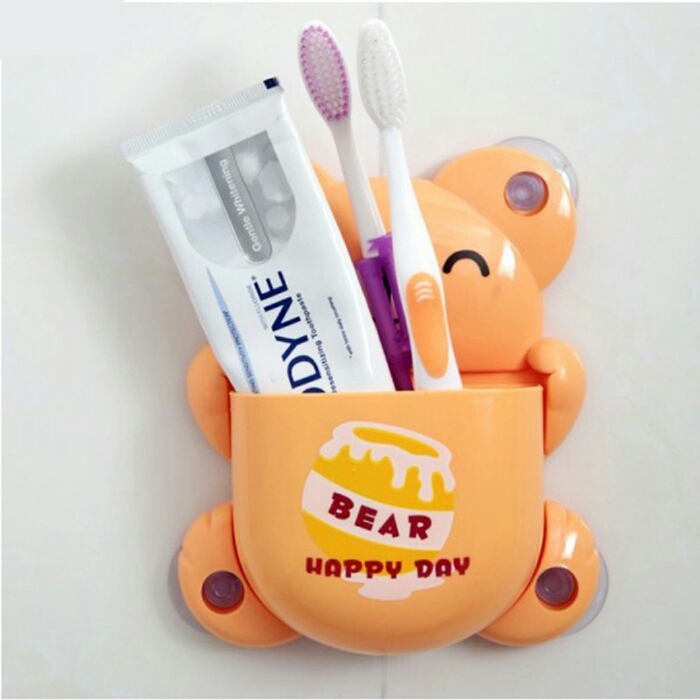 خرید پستی  جا مسواکی عروسکی طرح خرس