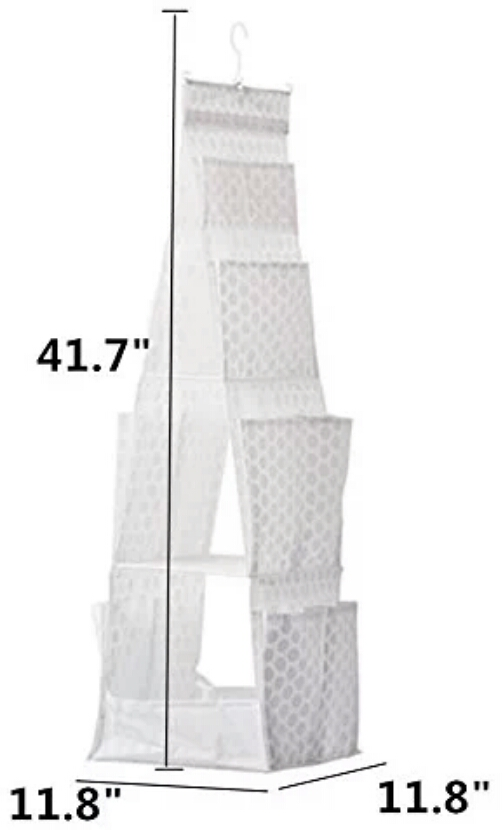 آویز سه طبقه نگهدارنده وسایل کیف کفش پوشاک وسایل منزل