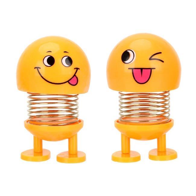 خرید پستی  عروسک ایموجی فنری 2عددی