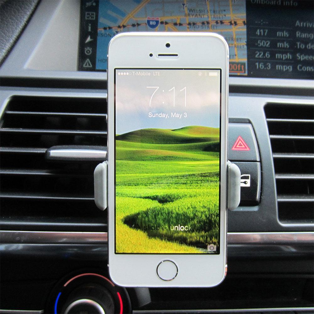 خرید پستی  پایه نگهدارنده گوشی موبایل دریچه کولر 2عددی CARMOUNT