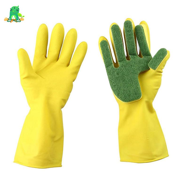 خرید پستی  دستکش اسکاچ دار نانو 2عدد