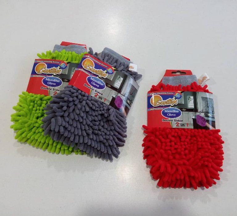 خرید پستی  دستمال دستکشی میکروفایبر ماکارونی