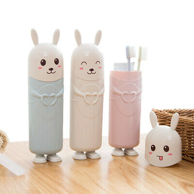 خرید پستی  جا مسواکی فانتزی طرح خرگوش 3عددی