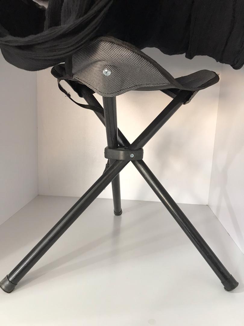 خرید پستی  صندلی تاشوی سه پایه مسافرتی