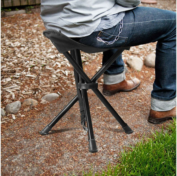 تخفیفانه صندلی تاشوی سه پایه مسافرتی,Folding travel tripod chair,صندلی تاشوی کینگ King,خرید پستی صندلی تاشوی سه پایه مسافرتی,