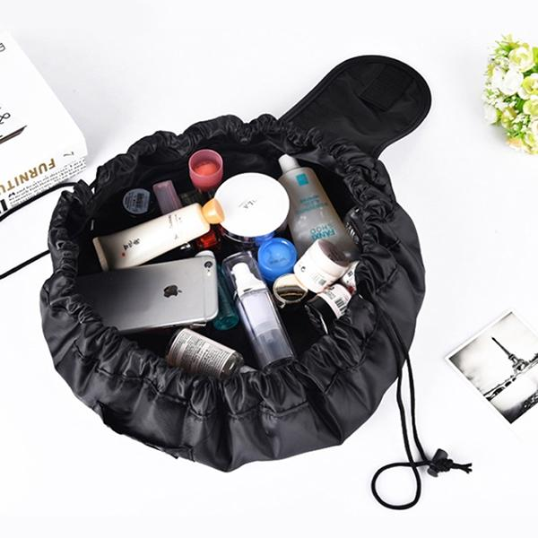 خرید کیف لوازم آرایشی مسافرتی قابل حمل مشکی
