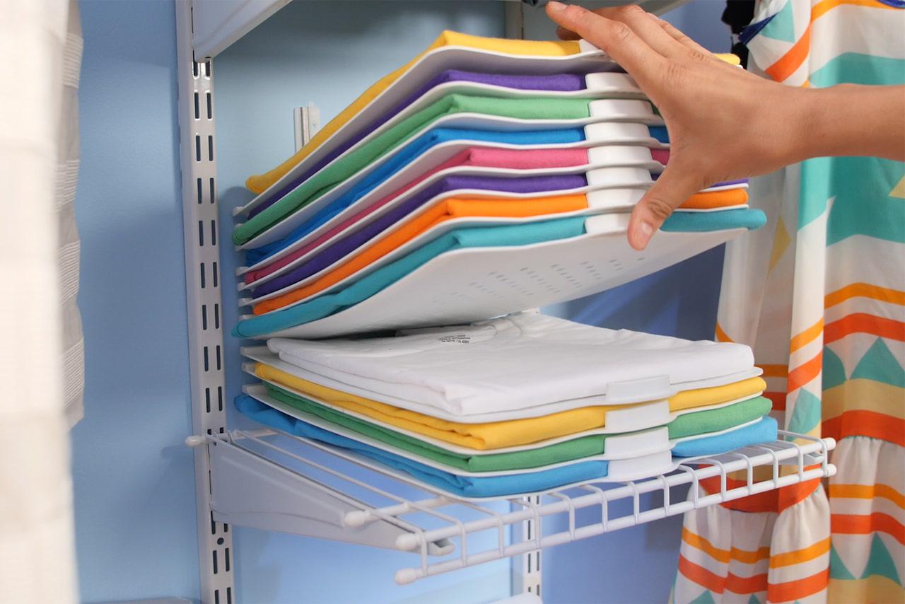 خرید پستی  نظم دهنده پلاستیکی لباس