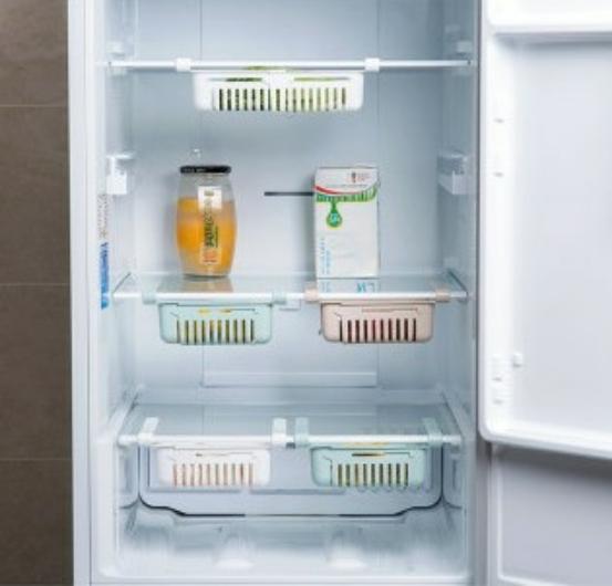 خرید پستی  شلف کشویی داخل یخچال 2عددی