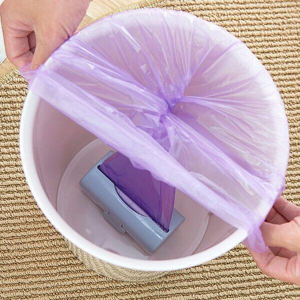 خرید جای نگهدارنده باکس کیسه زباله رولی آشپزخانه داخل سطل