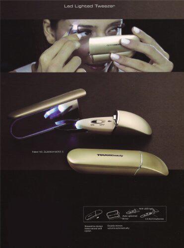 خرید پستی  موچین ال ای دی آینه دار