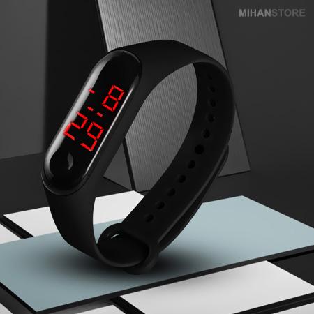 خرید پستی  ساعت مچی LED طرح شیائومی