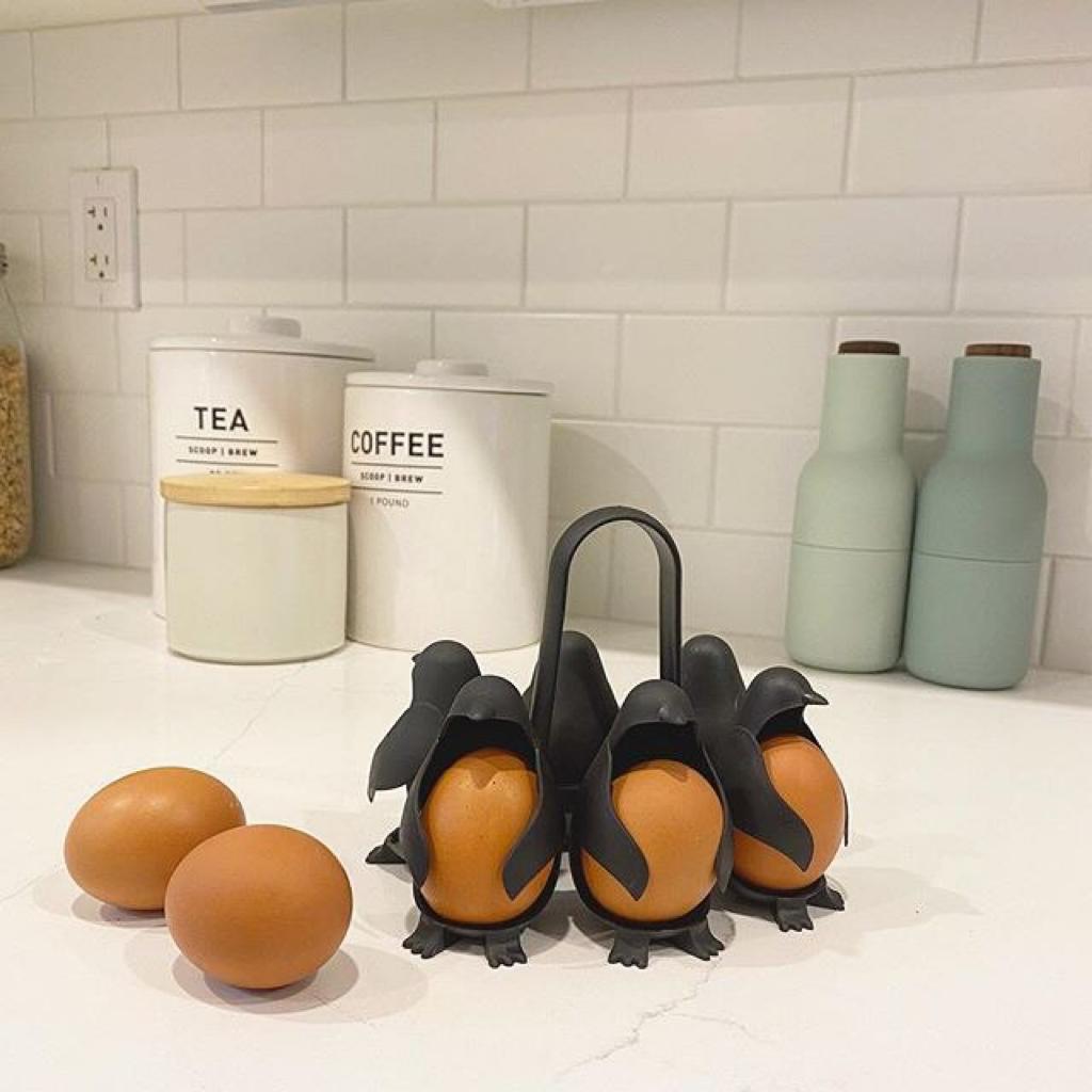 خرید ظرف پلاستیکی دوکاره نگهدارنده و پخت تخم مرغ