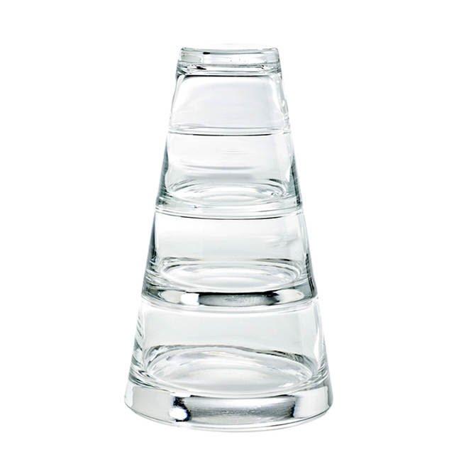 خرید پستی  ظرف سرو دسر برجی شکل چهار طبقه