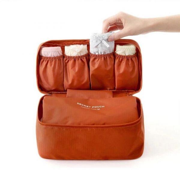 قیمت و خرید کیف لباس زیر مسافرتی مخفی طرح چمدان مخصوص بانوان ایرانی