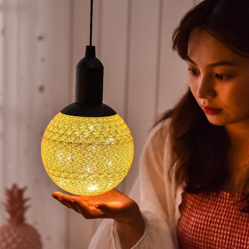 خرید لامپ تزئینی کورتی قشنگ توپی شکل فانتزی دکوراتیو