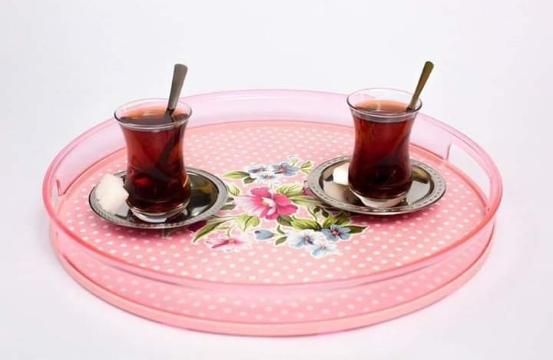 خرید پستی  سینی های پلاستیکی فانتزی ترکیه