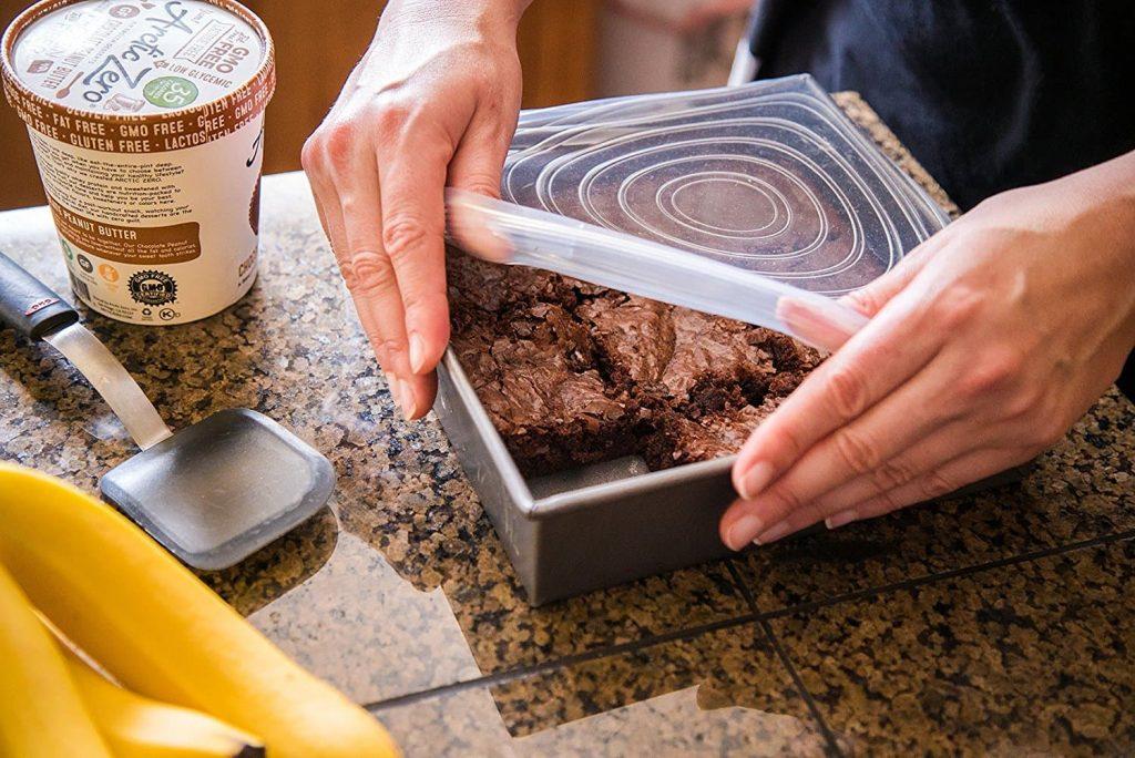 خرید روکش رنگی بامزه سیلیکونی کشی ظروف و مواد غذایی