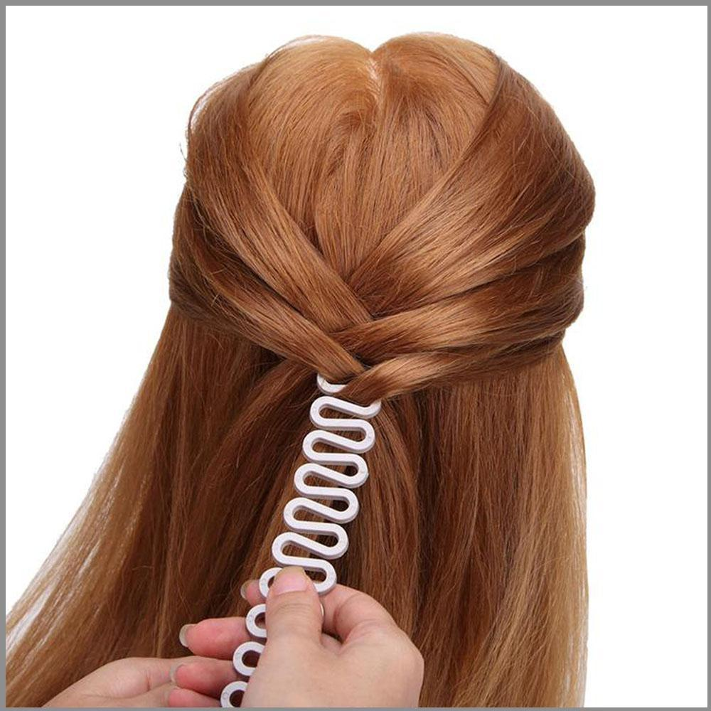 خرید گیره ی پلاستیکی مو سر بافت موی مدل تیغ ماهی