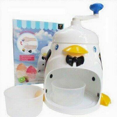 خرید پستی  دستگاه یخ پودر کن دستی طرح پنگوئن