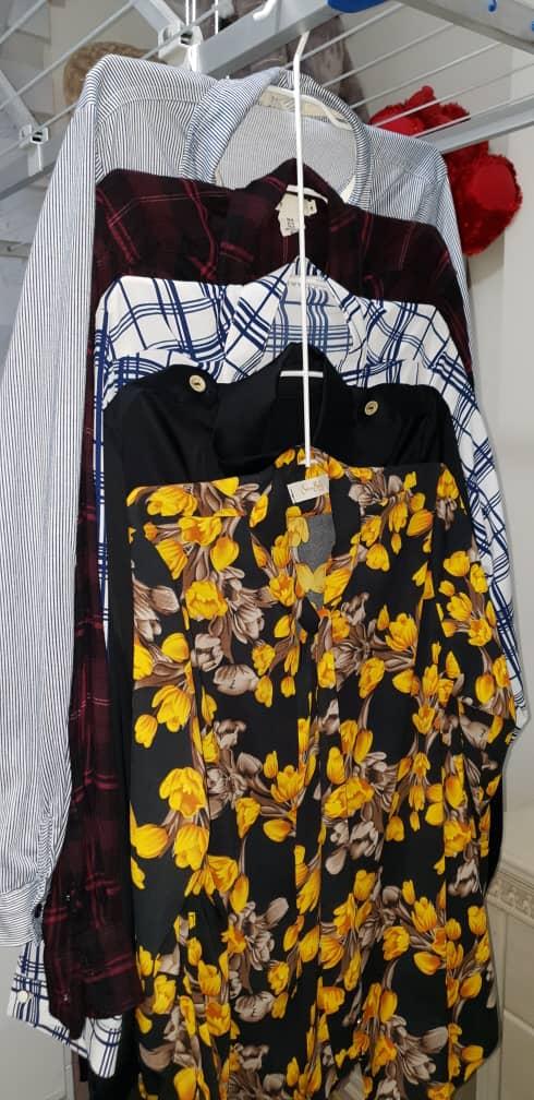 خرید پستی  رخت آویز 5طبقه بلوز مردانه