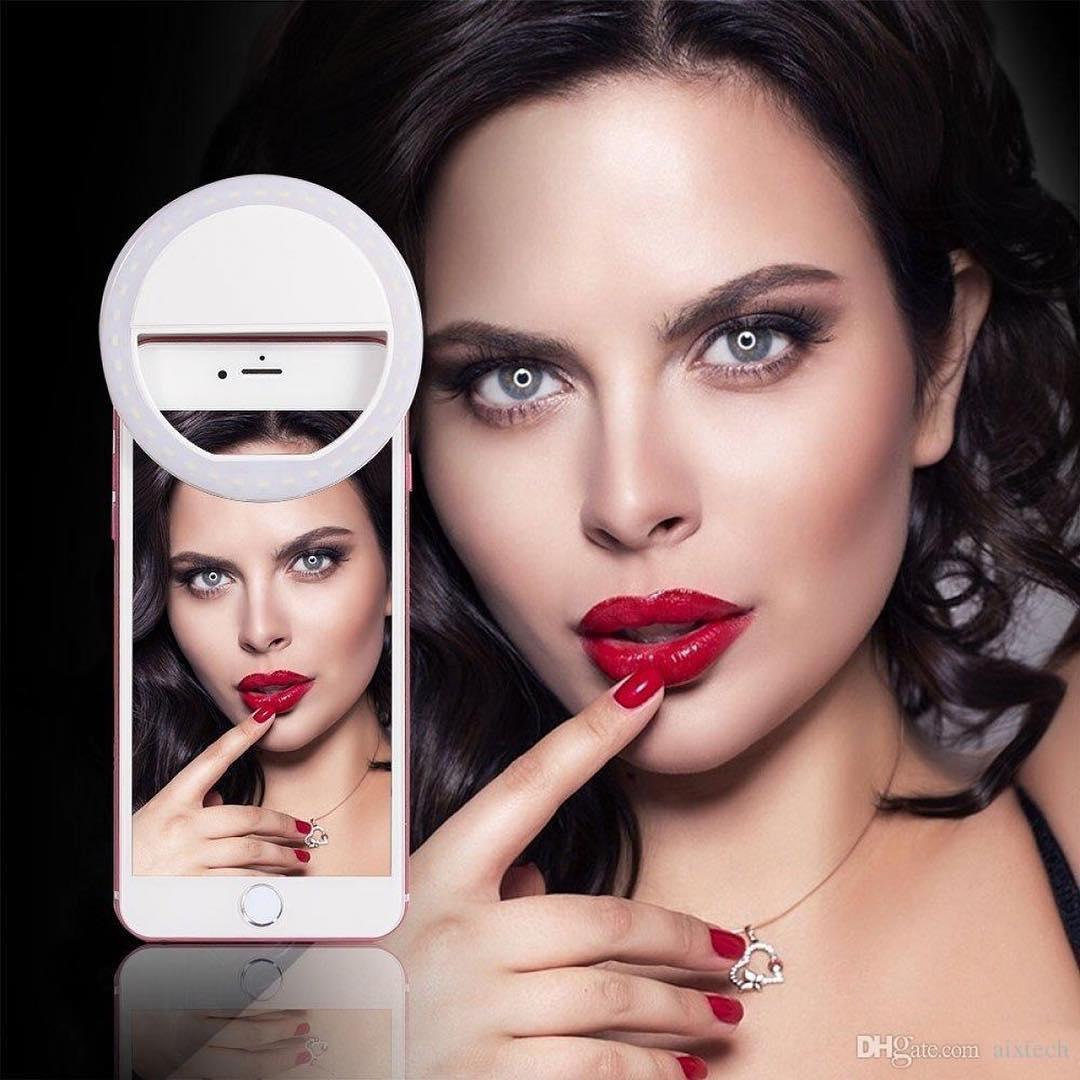 خرید حلقه رنگی رینگ لایت سلفی موبایل گوشی تلفن همراه مدل 2020
