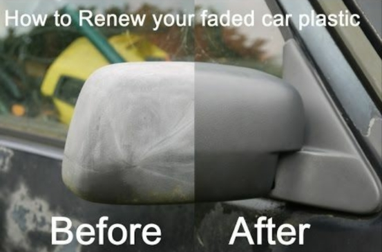 واکس بازسازی کننده براق کننده سطوح پلاستیکی خودرو
