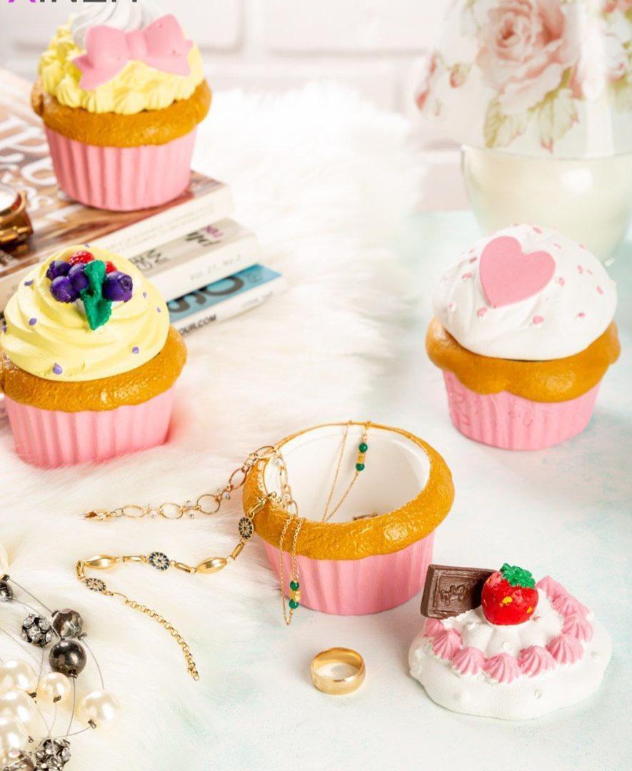 عکس محصول جا جواهراتی طرح کاپ کیک