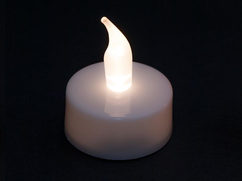 عکس محصول شمع LED شناور روی آب 4عددی