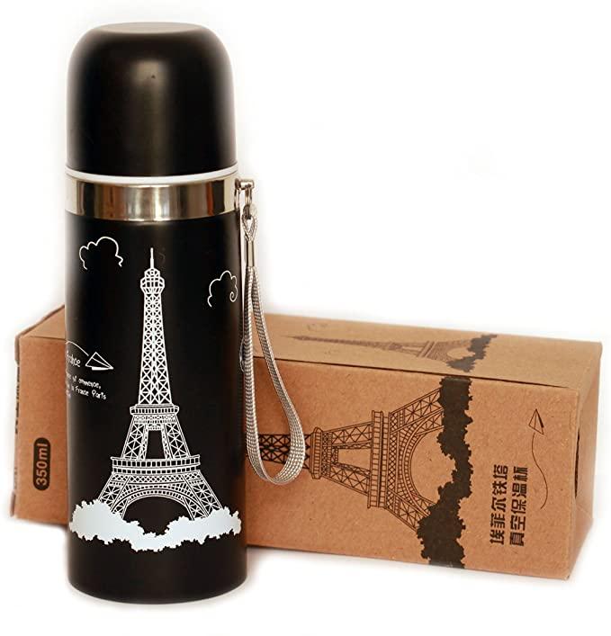 فلاسک استیل طرح ایفل Eiffel design steel flask