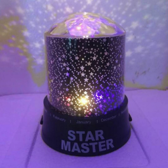 چراغ خواب کریستال Star Master