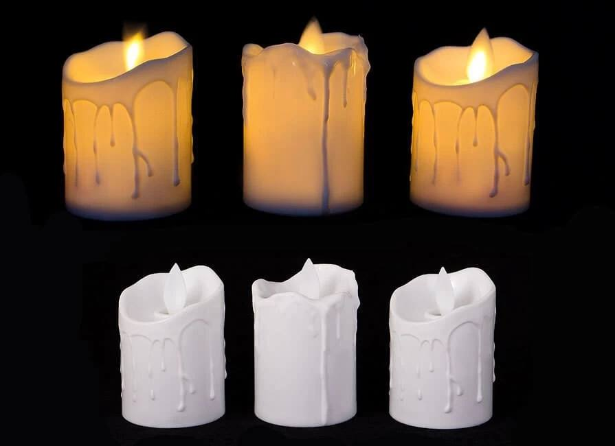 عکس محصول شمع ال ای دی مدل شعله متحرک