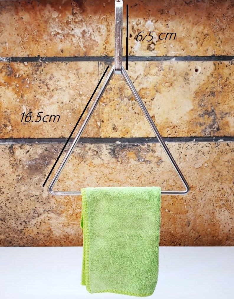 عکس محصول آویز حوله مثلثی 2عددی