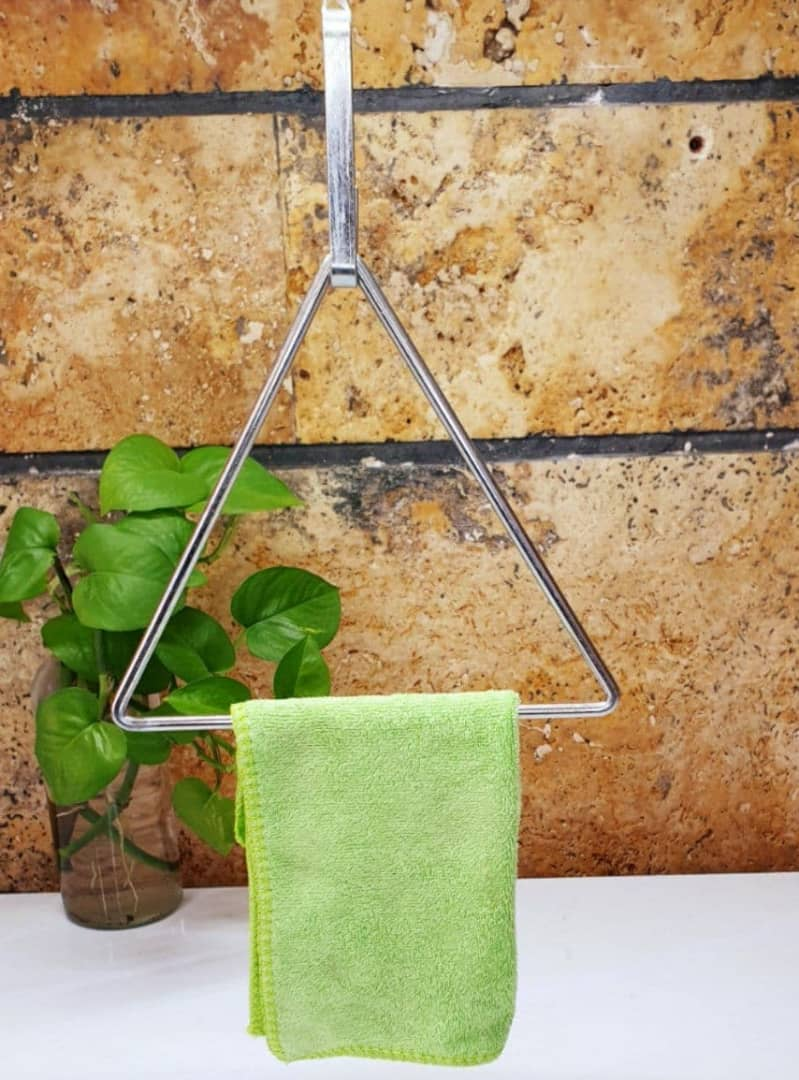 آویز حوله مثلثی 2عددی 2-piece triangular towel hanger