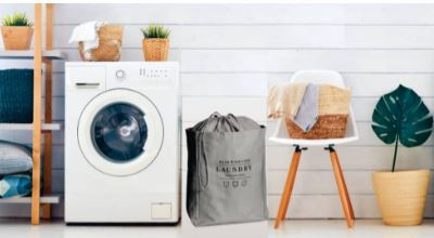 تخفیفانه کیف لندری رخت چرک H&M,H & M dirt laundry bag,کیف لندری مخصوص رخت چرک,خرید پستی کیف لندری رخت چرک H&M,